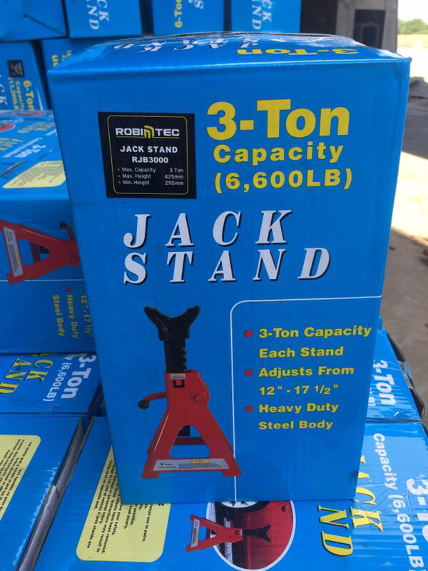 3t Jack Stand Box