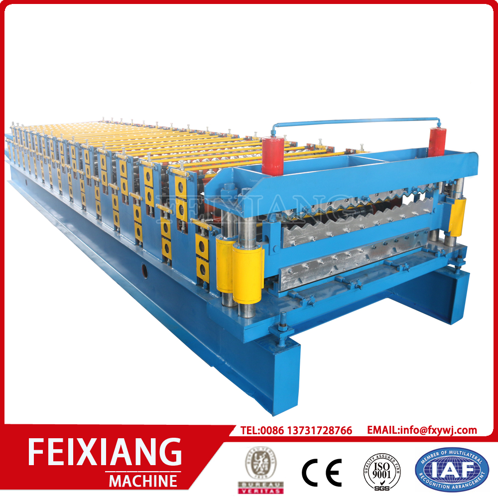 Double Layer Corrugated Steel Sheet Making Machine
