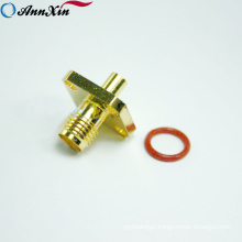 2018 SMA Male Female Flange RF Coaxial small electrical Connector