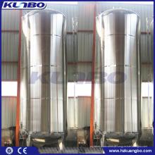 Tanque de armazenamento sanitário de aço inoxidável do vácuo do suco da água de KUNBO 20m3 20000 litros