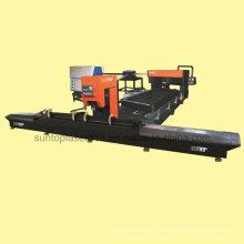Máquina de corte de láser de madera de la placa de troquelado redondo y plano para madera industrial