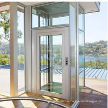MRL Outdoor 250 ~ 400KG elevador de elevador de vidro para villa