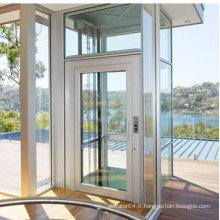 Four Sides Glass Cabin 250 ~ 400kg Small Home Elevator
