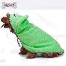 Heißer Verkauf Microfiber Trocknen Pet Badetuch Super saugfähigen Hund Handtuch Bathrope Zubehör