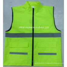 Popular Polo Safety Vest with Oxford Fabric