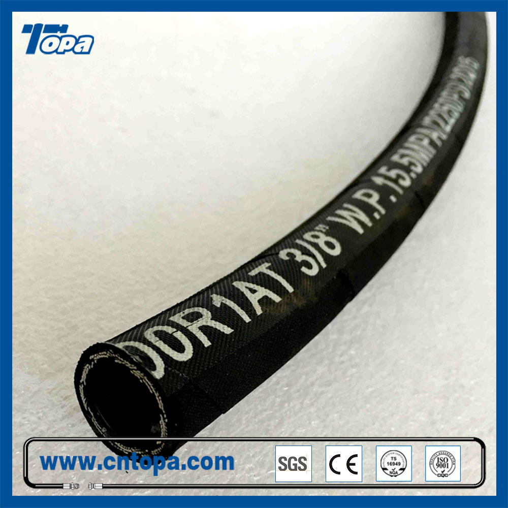 High Pressure Manuli steel wire braided hydraulic hose