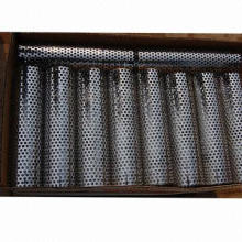 Mesh, Made of Perforated Metal, Punched into Various Shape Holes in Same Material