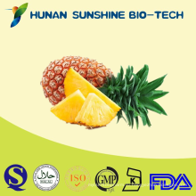 Без ГМО порошок Бромелайн экстракт ананаса , ананас посевной, экстракт Бромелайн фермент порошок