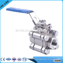 Oil forged steel bsp thread ball valve