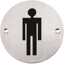 Men Only Hardware Signs for Bathroom