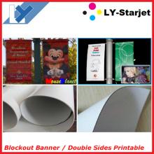 Bandeira de bloqueio para impressão de lado dupla (banner Flex Blockout)