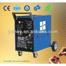 DC MIG máquina de solda CO2 máquina de solda mig