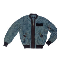 Men`s 100% Nylon garment dyed jacket