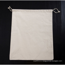 Heavy Duty Cotton Hotel Hanging Underwear Drawstring Laundry Bag (YKY7402)