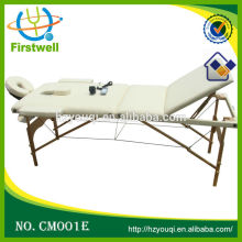 Firstwell wood massage table/portable massage table with oxford cloth carry bag