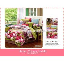 Ropa de cama, juegos de ropa de cama, textiles para el hogar, sábanas de algodón estampadas