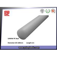 Haste de UHMWPE para engrenagens de plástico Resiatance de desgaste excelente