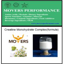 Моногидратный комплекс креатина (формула)