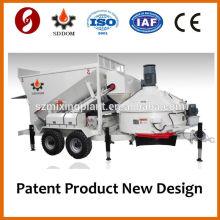 MB1200 портативный бетоносмесительный завод продажа 10M3 / H