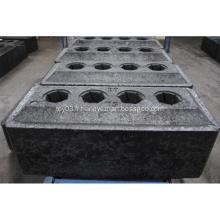 Blocs de carbone d'anodes précuites pour la réduction de l'aluminium