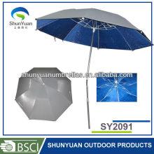folding spring tilt Senior Korean Oxford cloth leisure umbrella