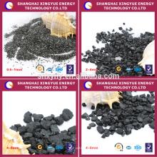 Mantacture Fabrik liefern Kohlenstoff anthrazit Kohlefiltermedien für die Wasser Purficition