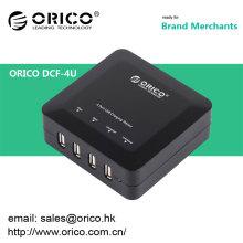 Station de recharge USB ORICO DCF-4U 4 ports pour iPhone / iPad / téléphone cellulaire / tablette PC