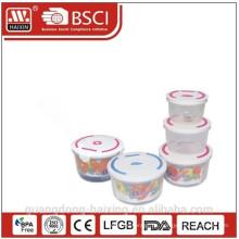 Container(3pcs) de alimentos de microondas