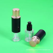 High quality Plastic Liquid Foundation Bottle Packaging BB CC Cream Lotion Bottles with Sponge Puff