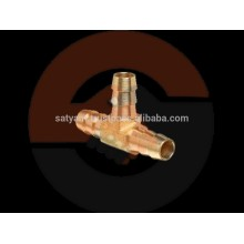 Brass T Joint Nipple for Garden Hose