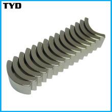 Arc NdFeB Magnet/ Round Neodymium Magnets