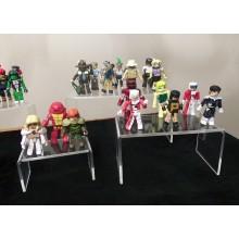 Pop Toy Acrylic Display Stand, Publicidade Acrílico Display Rack