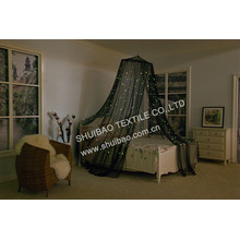 Charming Flashing Stars Conical Mosquito Net