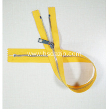 One-way Stainless Steel 22 Inch Zipper for Shoes
