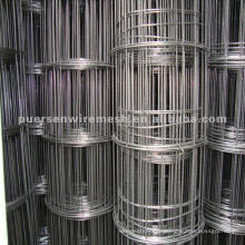 Black Iron Wire geschweißte Mesh Roll