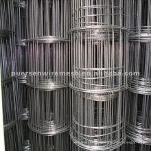 Malla soldada con alambre de hierro negro