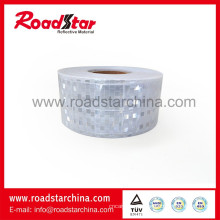 Prismatische weiße Gitter Reflexfolie für Sicherheit
