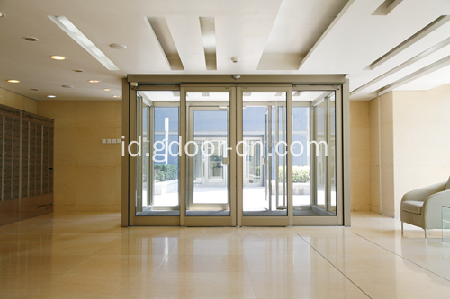 PSA Control Panel komersial Automatic Sliding Door
