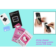 3D Soft Rubber Mobile Phone Cleaner