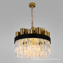 Postmodern style living room hanging pendant lighting gold nordic modern led chandelier pendant light