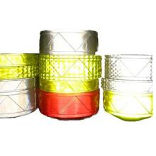 cinta reflectante por mayor seguridad con EN ISO 20471 muchos colores pueden ser bien escogidos