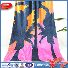 Hersteller Großhandel Quick Dry Absorbent Printed Badetuch