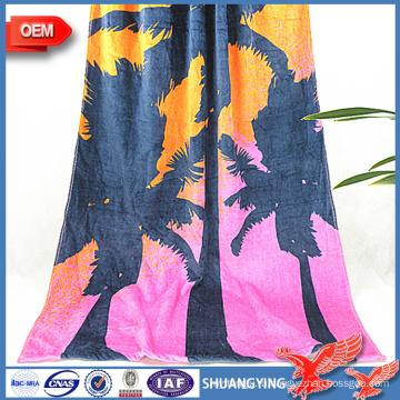 Производители Оптовая Продажа Быстро Сухой Абсорбент Печатных Пляжное Полотенце