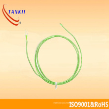 White and green color Thermocouple cable (type K )