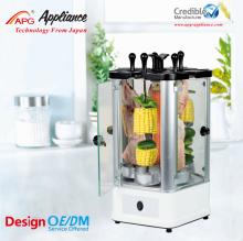 vertical electric mini bbq kebab machine