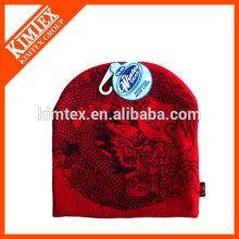 Unisex-Maschine strickte Acryl-Mütze