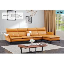 Simple Modern Leisure Office Leather Sofa