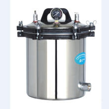 Esterilizador de autoclave con calefacción eléctrica o LPG portátil