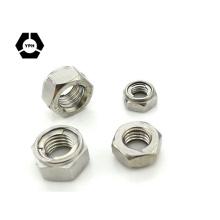 Fixation en acier inoxydable 304, écrous DIN980