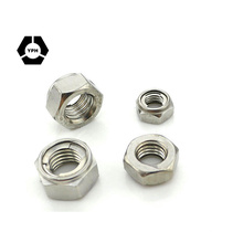 304 Stainless Steel Fastener, Nuts DIN980
